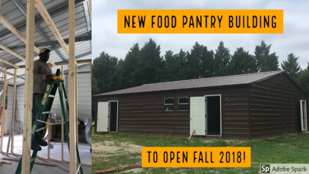 New Food Pantry Building